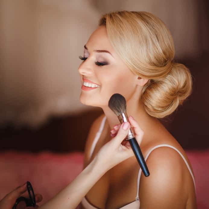 Maquillage mariée Lamballe